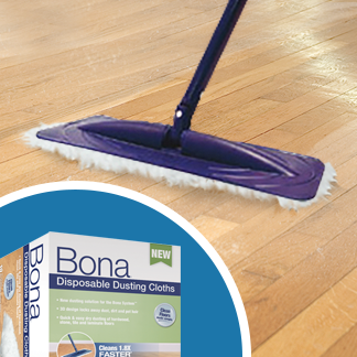 &lt;p&gt;Use a microfiber dry mop or a vacuum without a rotary brush to pick up everyday dirt and debris. This is the first line of defense since these particles, if left to accumulate, can scratch/wear down the protective surface of laminate flooring.&lt;/p&gt;<br/>