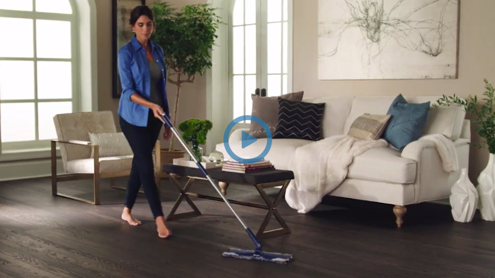 Get the most out of your Bona Mop when you use the Microfiber Dusting Pad for daily cleaning. See why the Bona Microfiber Dusting Pad helps make cleaning quick and easy!
